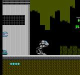 MetalMech: Man & Machine NES Somewhere in Level 1