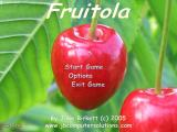 Fruitola Windows Main menu
