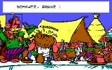 Asterix and the Magic Carpet DOS In the hamlet (EGA)