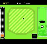 Neo Turf Masters Neo Geo Pocket Color The view at the hole