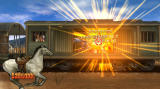 Wild West Guns Wii Defend a train against robbers.