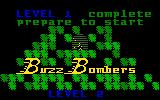 Buzz Bombers Intellivision Level complete!