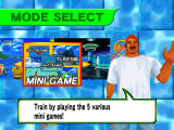 Sega Marine Fishing Dreamcast Mini games are basically training sessions