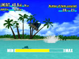Sega Marine Fishing Dreamcast Sailfish jumping out of the water