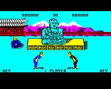 Kung-Fu: The Way of the Exploding Fist BBC Micro Hailing each other (demo mode)
