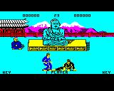 Kung-Fu: The Way of the Exploding Fist BBC Micro Fighting (demo mode)