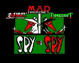 Spy vs Spy BBC Micro Title Screen