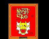 Knight Lore BBC Micro Title Screen