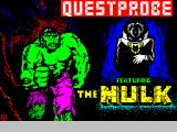 The Hulk ZX Spectrum Title / loader