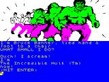 The Hulk ZX Spectrum Turning into the Hulk!