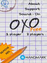 OXO: Tic Tac Toe Extreme Android Main menu (free version)