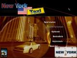 Taxi Challenge New York Windows Title screen and main menu
