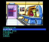 Snatcher SEGA CD A typical gameplay screen with things to look at and to investigate
