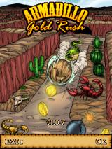 Armadillo Gold Rush J2ME Title screen