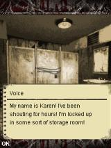 Silent Hill: Orphan J2ME Talking with Karen through the vent