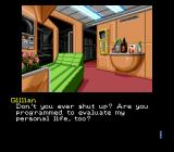 Snatcher SEGA CD Some dialogues are quite well-written