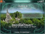 The History Channel: Lost Worlds Macintosh Mesoamerica Puzzle 6 - Reconstruct