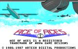 Ace of Aces DOS Here come the Aces! (EGA)
