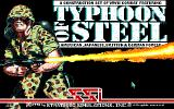 Typhoon of Steel Amiga Title screen