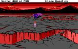 Space Quest III: The Pirates of Pestulon DOS Roger arrives on the volcano world of Ortega