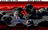 Space Quest III: The Pirates of Pestulon DOS Some equipment left behind by surveyors