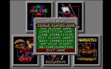 Future Classics Collection Amiga Main menu.