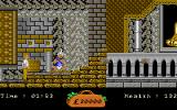 In 80 Days Around the World Amiga Make sure to kill the snake charmer. If you don't he will teleport you back to the start.