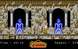 In 80 Days Around the World Amiga Further along, these statues attack me.