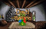 Dragon History DOS Title Screen