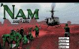 'Nam 1965-1975 DOS Title Screen (EGA)