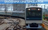 Enoshima Line Simulator Windows Title screen with main menu