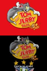 Tom and Jerry Tales Nintendo DS Title screen