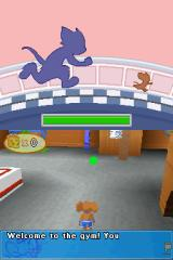 Tom and Jerry Tales Nintendo DS The Gym - tutorial level