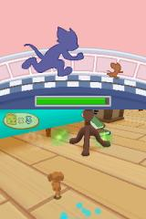 Tom and Jerry Tales Nintendo DS Touch time mode: try to keep your distance from Tom