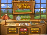 Fairway Solitaire Windows Main menu