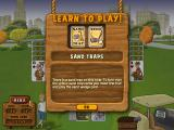 Fairway Solitaire Windows Learning about the sand wedge and sand traps.