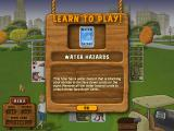 Fairway Solitaire Windows Learning about water hazards.