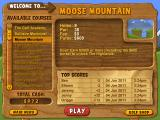 Fairway Solitaire Windows Welcome to course three...Moose Mountain.