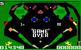 Pinball Intellivision Game over