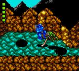 Battletoads Game Gear Attacking with pole