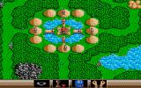 The Ancient Art of War Atari ST A well defended castle