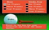 Jack Nicklaus' Greatest 18 Holes of Major Championship Golf Atari ST Setting up a new game