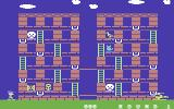 Memory Manor Commodore 64 Here is level 1