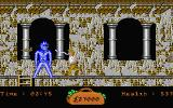 In 80 Days Around the World Atari ST Fighting one of the blue monsters