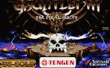 Gauntlet III: The Final Quest Atari ST Title screen