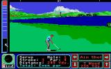 Jack Nicklaus' Greatest 18 Holes of Major Championship Golf Atari ST Be careful not to land in the water!