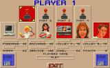 Great Courts 2 Atari ST Player(s) setup
