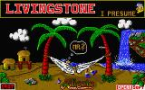 Livingstone, I Presume? Atari ST Title screen