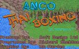 Thai Boxing Atari ST Title screen