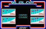 The Games: Winter Edition Atari ST Four different slalom courses to choose between